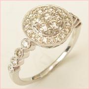 Mille GioielliダイヤモンドリングDR62375R01MH